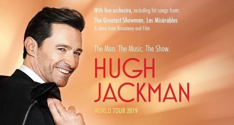 """Hugh Jackman presenta el musical """"The Man The Music The Show"""" en México"""