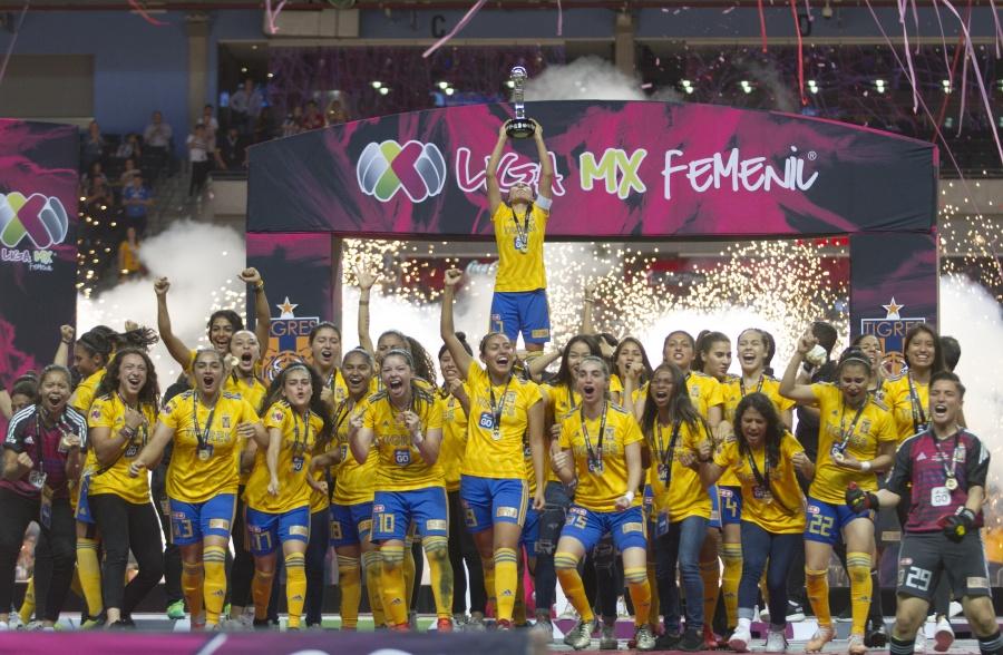 ¡Campeonas! Tigres Femenil consigue su segundo título tras vencer a Rayadas