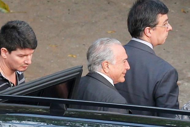 Abandona la prisión Michel Temer, ex presidente de Brasil