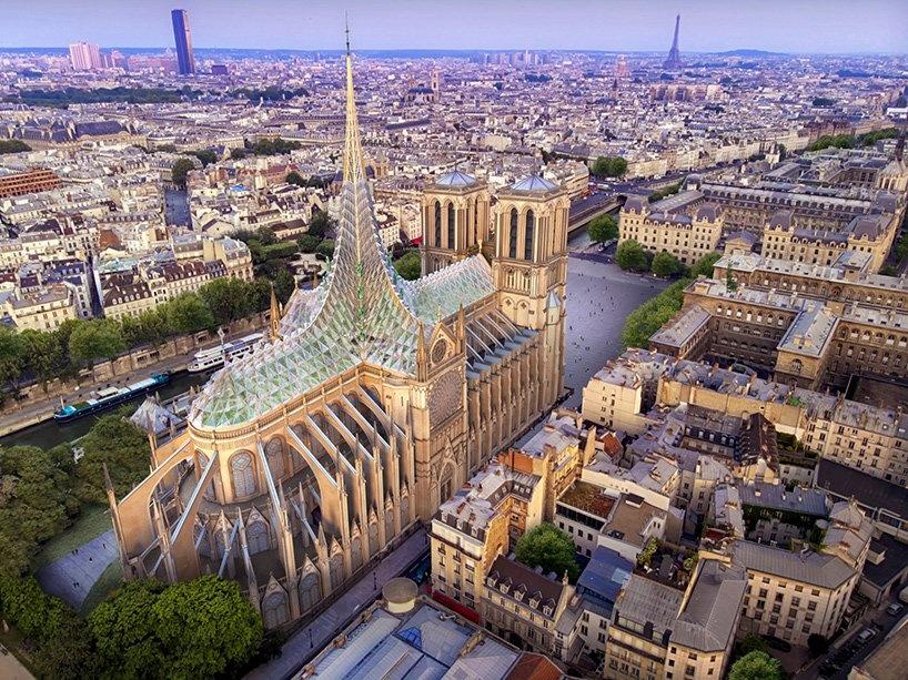 Ecológica y resiliente, la nueva propuesta para renovar Notre Dame