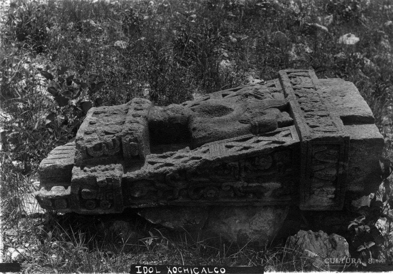 El INAH presenta exposición del monolito de la diosa Xochiquetzal