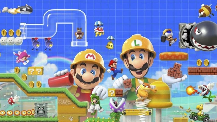 Llega Mario Maker 2 en modo historia y co-op