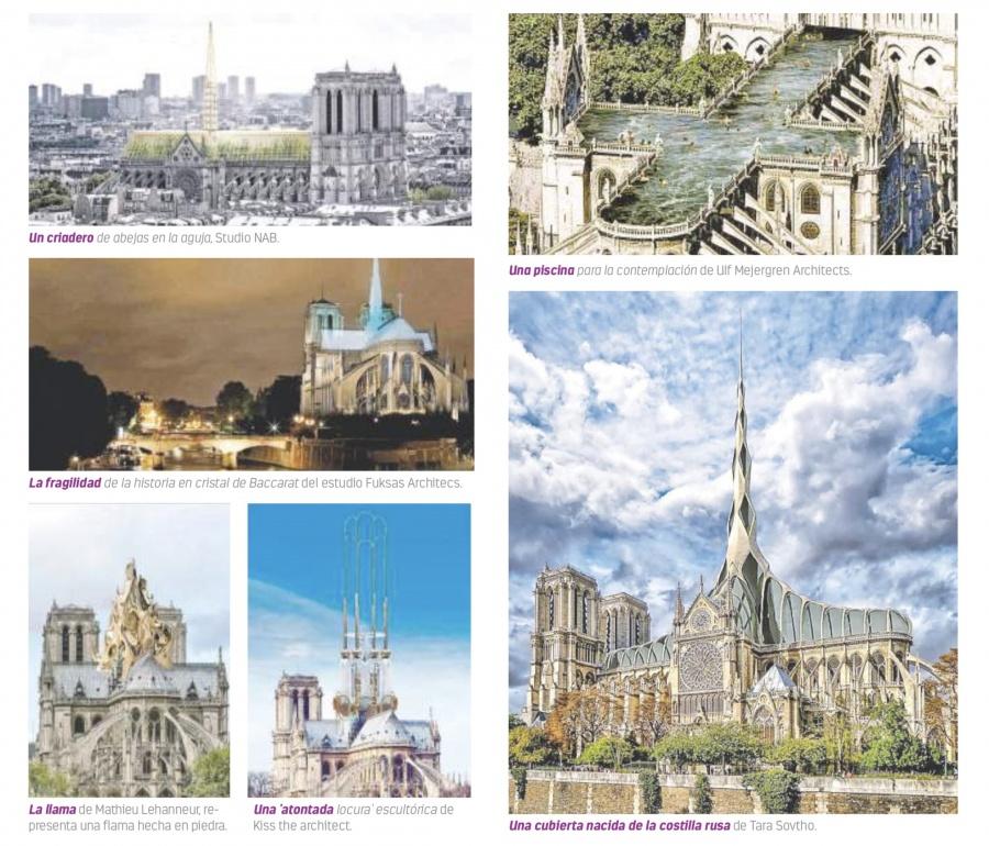 Desde piscina hasta jardín, opciones para alzar  Notre Dame