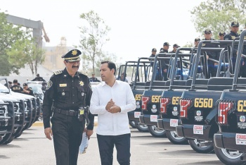 Entregan las primeras 350 patrullas a la SSP de Yucatán