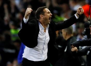 Esto le costó a Frank Lampard la fiesta con jugadores del Derby County