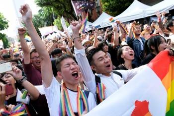 Taiwán se convirtió en el primer país de Asia en legalizar el matrimonio gay