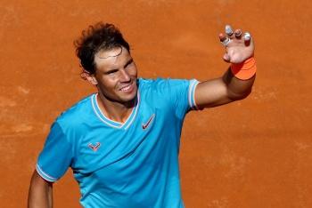 Nadal avanza a semifinales en el Abierto de Roma