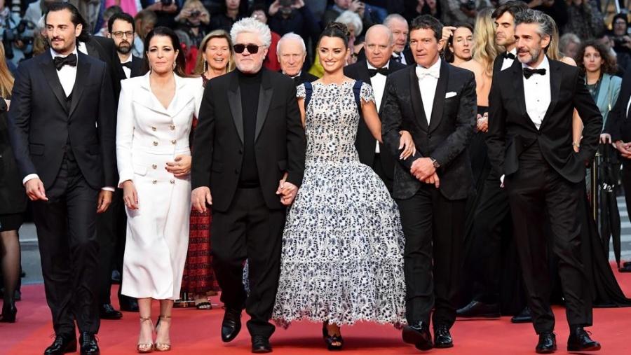 En Cannes, una de las mejores noches de Almodóvar
