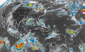 Reportan baja presión en el Océano Pacífico, con 10% de probabilidad de desarrollo ciclónico