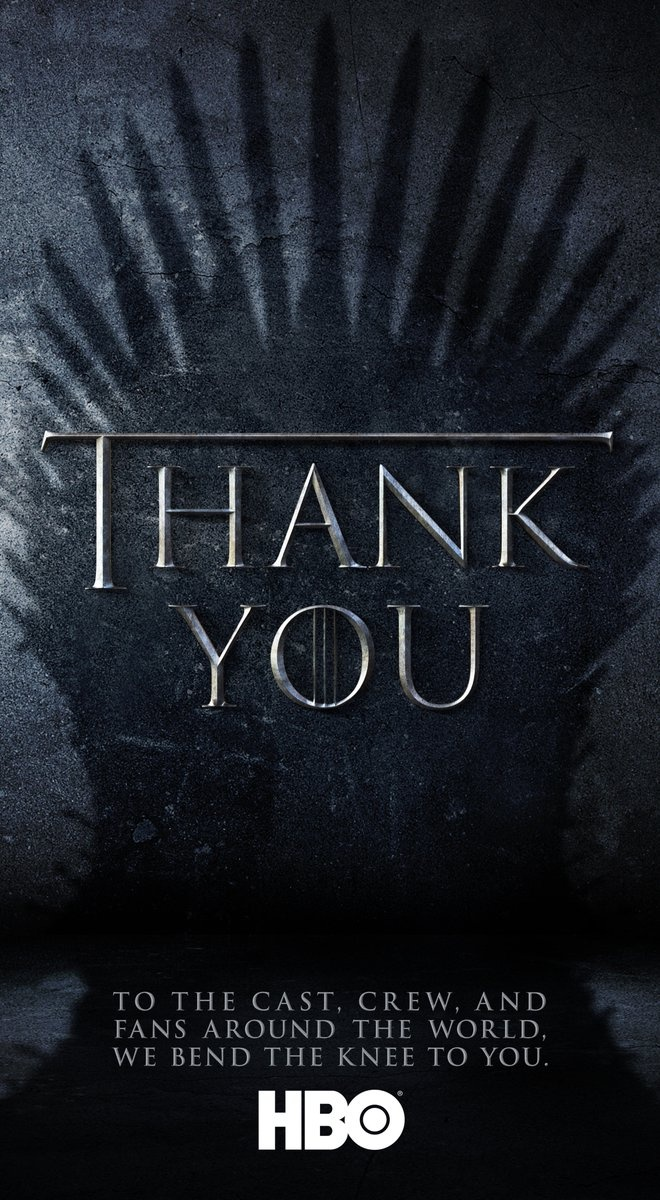 Creadores de Game of Thrones agradecen a sus fans
