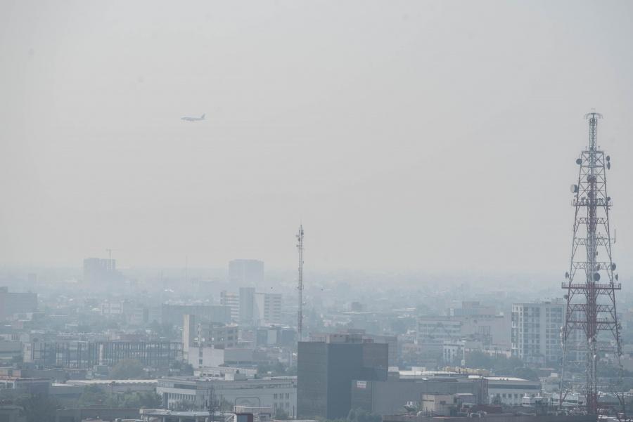 Amanece Ecatepec con mala calidad del aire