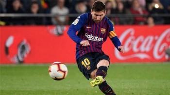 Messi, el máximo goleador de la temporada de la Liga