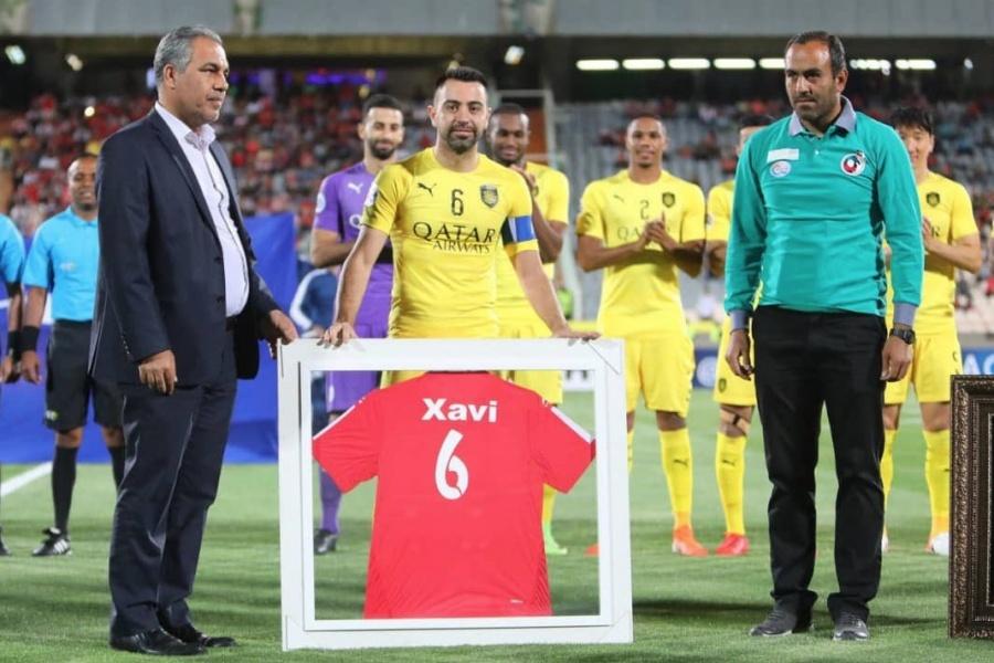 Xavi Hernández se despide del fútbol