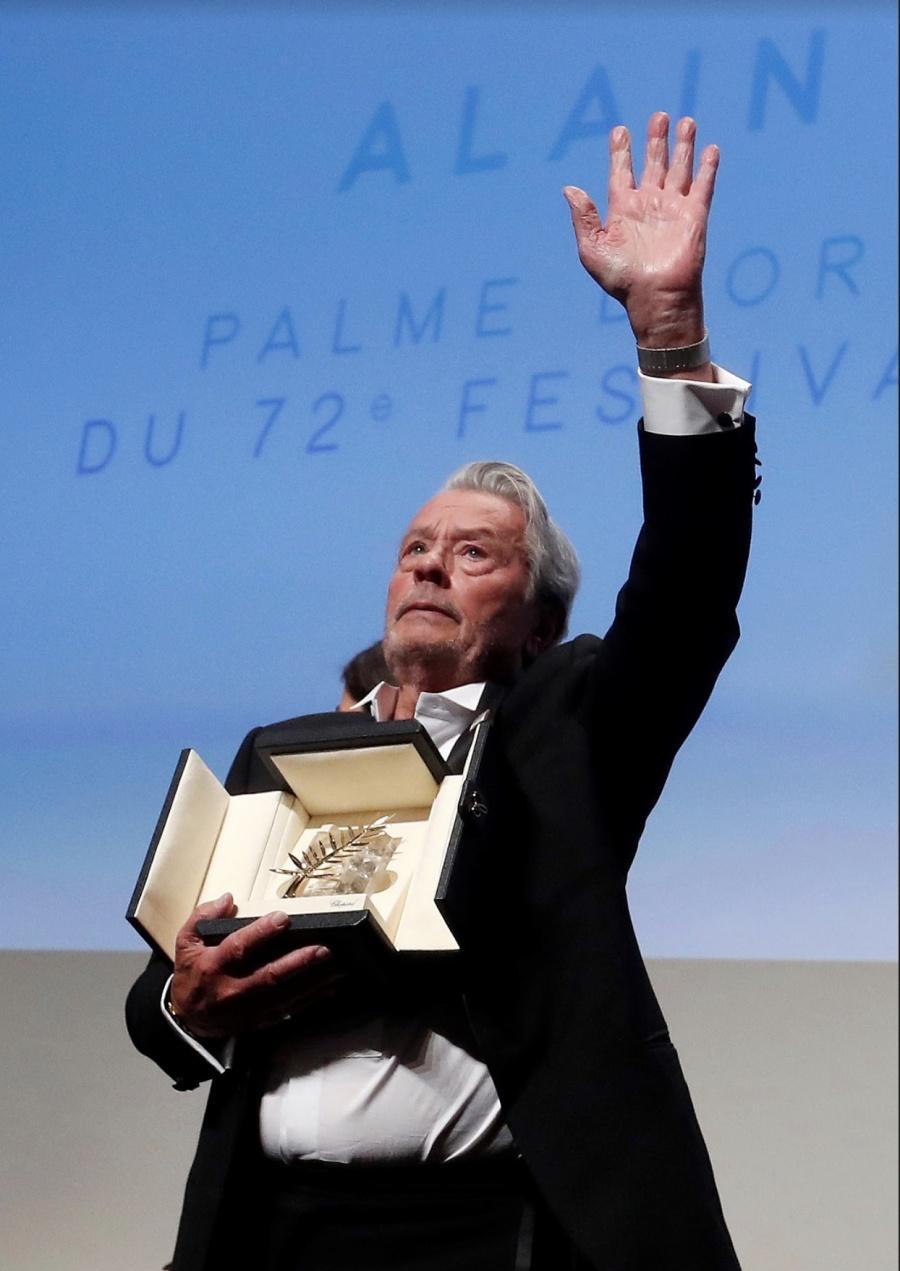 Dan la Palma de Oro de Cannes al sex symbol francés de los 60