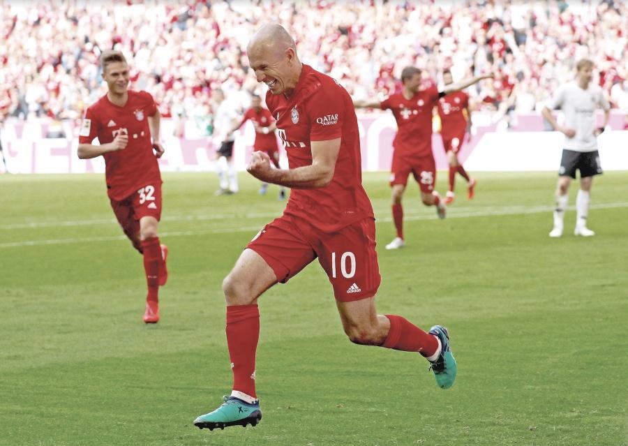 Acaba ciclo de Robben tras 12 años en Múnich