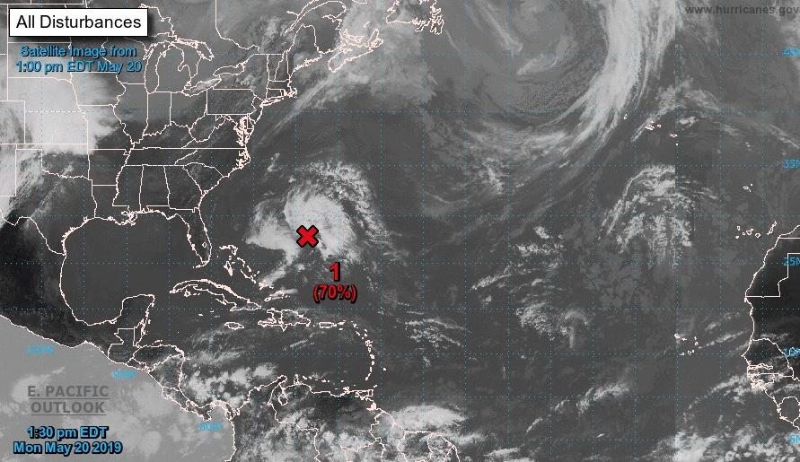 Atlántico, recibirá a 'Andrea', primera tormenta tropical del 2019