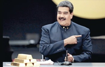 Maduro vende 570 mdd en Oro para oxigenar su dictadura