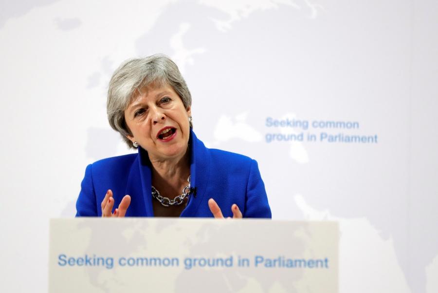 Theresa May presenta nuevo acuerdo para salida de la UE