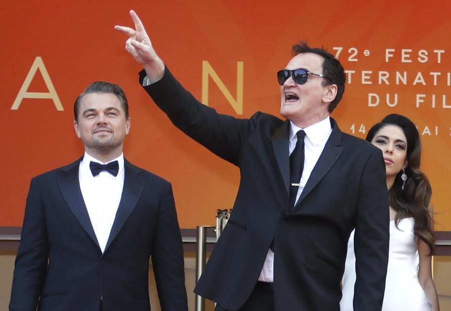 Tarantino va por su segunda Palma de Oro