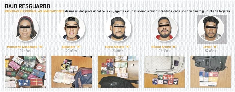 Detienen a 5 con tarjetas clonadas del Metro en el IPN