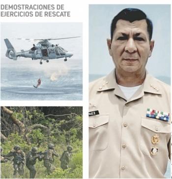 """Confía en """"regresar triunfante"""" de ejercicio en Santo Domingo"""