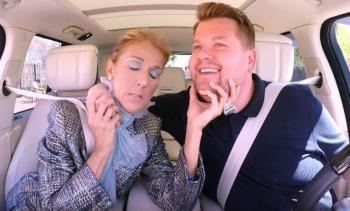 Céline Dion se sube al 'Carpool Karaoke'