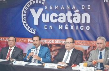 Promovueven comercio y turismo de Yucatán en CDMX
