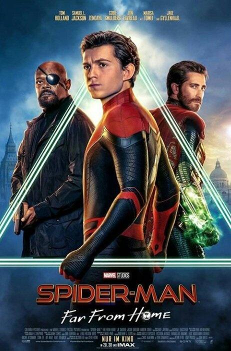 Nuevos Posters De Spider Man Lejos De Casa Contraréplica Noticias