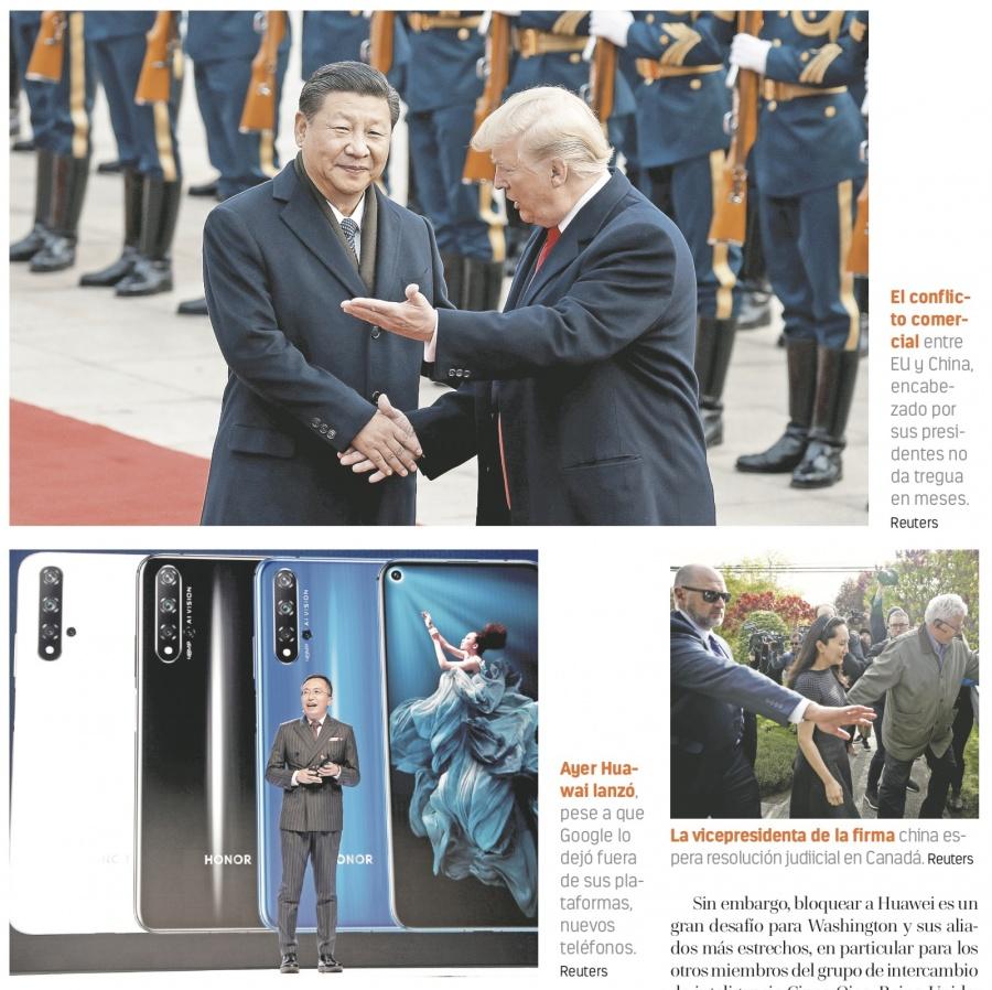 Huawei contra la pared por sus desarrollos 5G y el espionaje