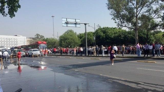 Amenaza de bomba en Palacio de Justicia en San Lázaro