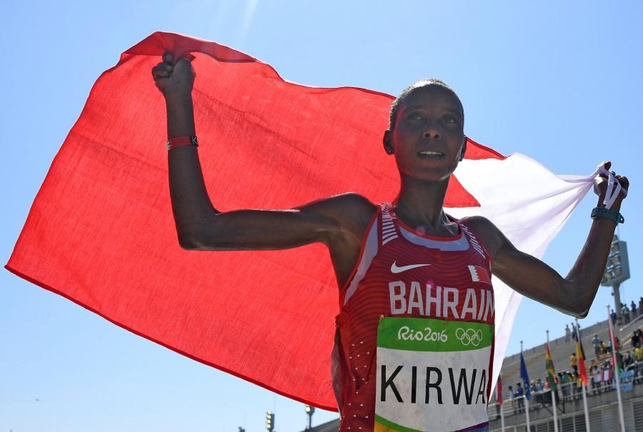 Suspenden por dopaje a maratonista Kirwa, medallista en Río 2016