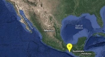 Reportan sismo de 5.1 grados en Chiapas