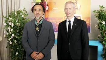 Nombran a González Inárritu comandante de la Orden de las Artes y las Letras