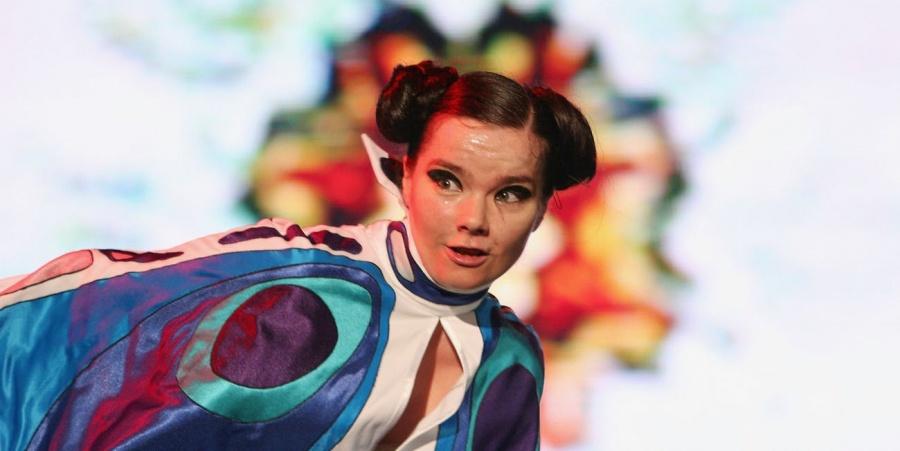 Björk anuncia presentación en el Parque Bicentenario