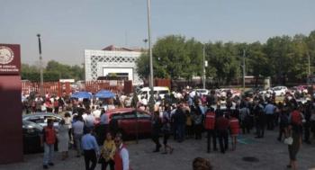 Desalojan Palacio De La Judicatura por Amenaza de Bomba