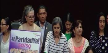 Aprueban por unanimidad reforma constitucional para equidad de género