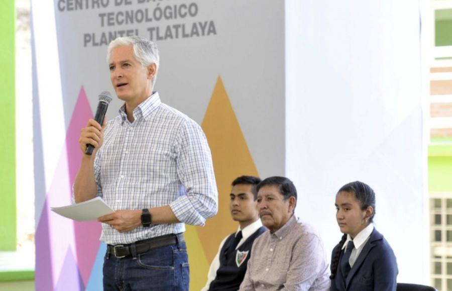 Crece cobertura educativa en Edomex con Bachiller