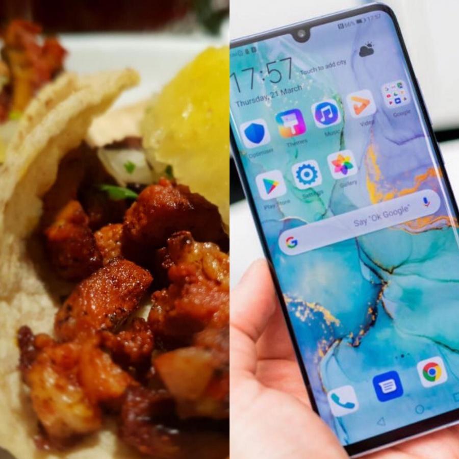 Tacos para todos los que tengan un HuaweI