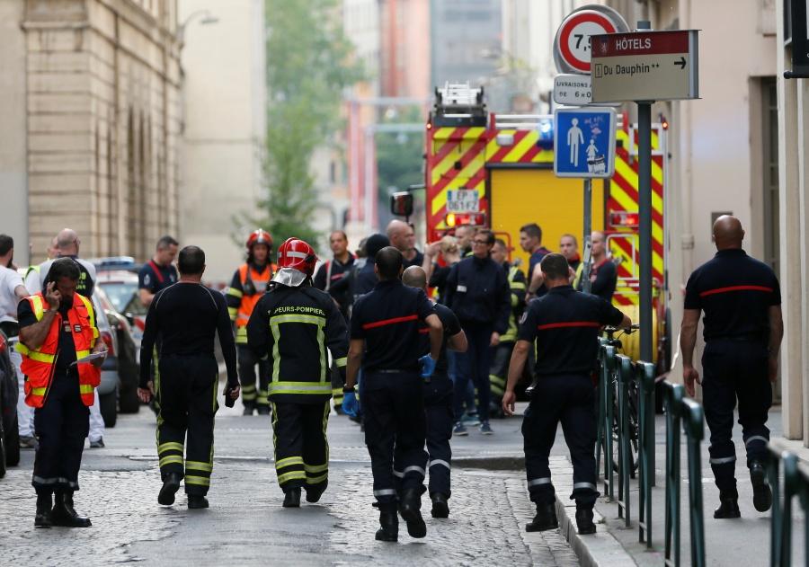 Explosión en Lyon deja ocho heridos