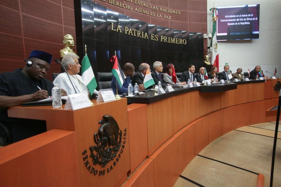 Buscan consolidar las relaciones entre México y África