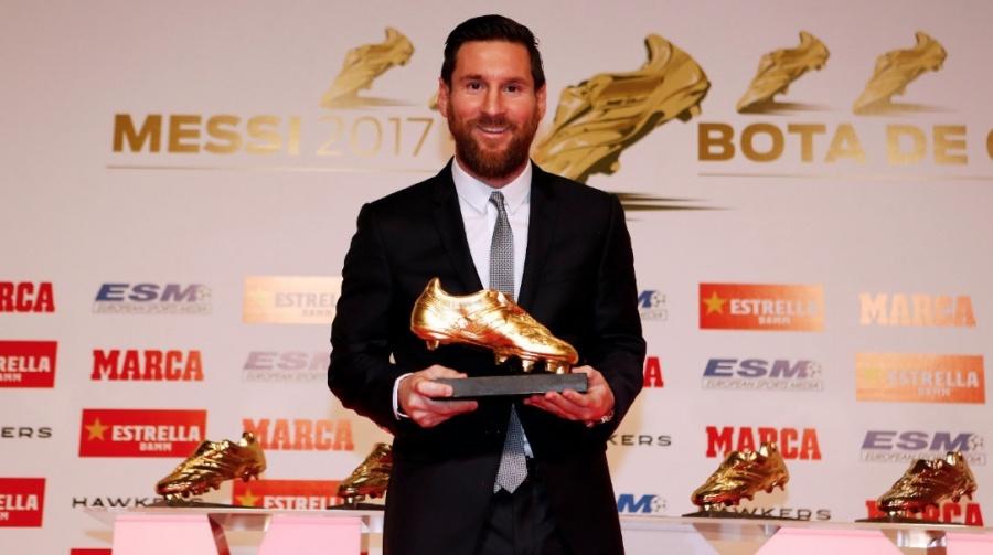 Messi gana la Bota de Oro