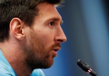 Lamentable, imagen de Barcelona tras eliminación en la Champions: Messi