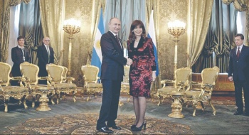 Kirchner encara 10mo Juicio por carta que le dio Putin