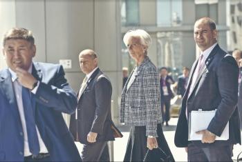Lagarde llega a México a junta con López Obrador