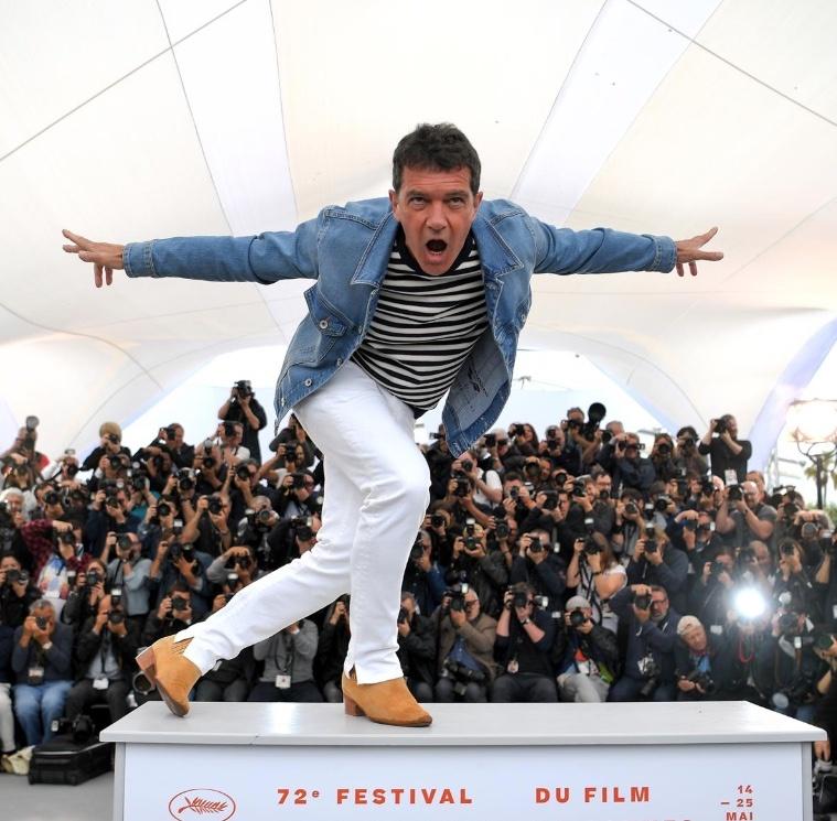 Antonio Banderas gana la Palma de Oro como mejor actor en Cannes