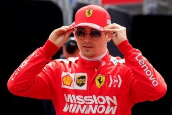 Leclerc, queda eliminado en la Q1