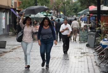 Prevén lluvias para esta tarde en la CDMX
