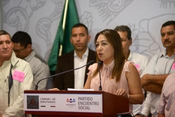 Necesario la participación de los tres niveles de gobierno para erradicar violencia y pobreza en sierra de Guerrero que obliga a la siembra de amapola: Maricarmen Cabrera