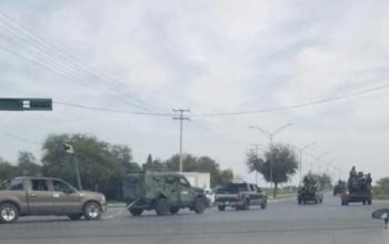 En fuego cruzado muere niña y mujer en Nuevo Laredo