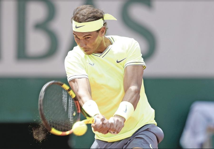 Nadal debuta con pie firme y registra triunfo 87 en París